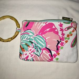 Lilly Pulitzer Target Nosey Posey ring Wristlet